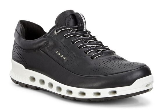 ECCO Mens Cool 2.0 Leather GTX (BLACK)