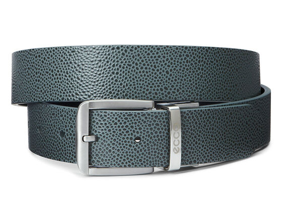 ECCO Dailey Mens Belt (DARK SHADOW/BLACK)