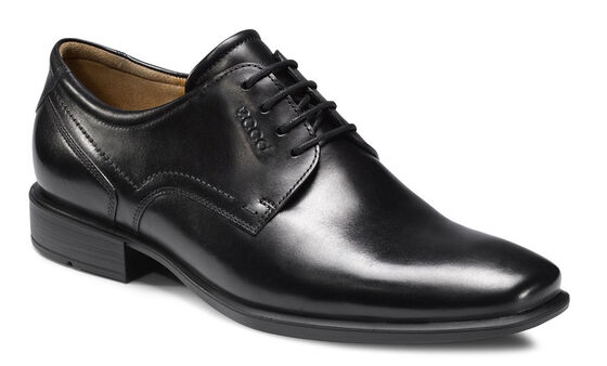ECCO Cairo Plain Toe (BLACK)