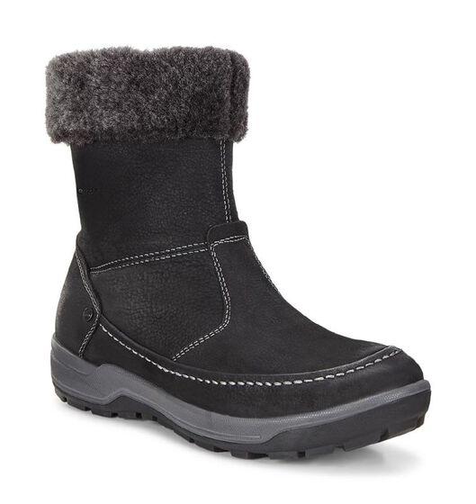 ECCO Womens Trace Boot (BLACK/DARK SHADOW)