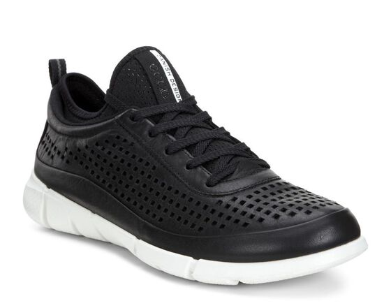ECCO Womens Intrinsic Sneaker (BLACK)