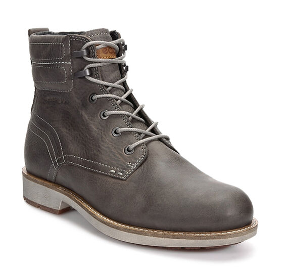 ECCO Bendix Plain Toe Boot (WARM GREY)