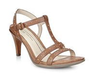 SHAPE 65 SLEEK T-strap SandalSHAPE 65 SLEEK T-strap Sandal in WHISKY (02283)