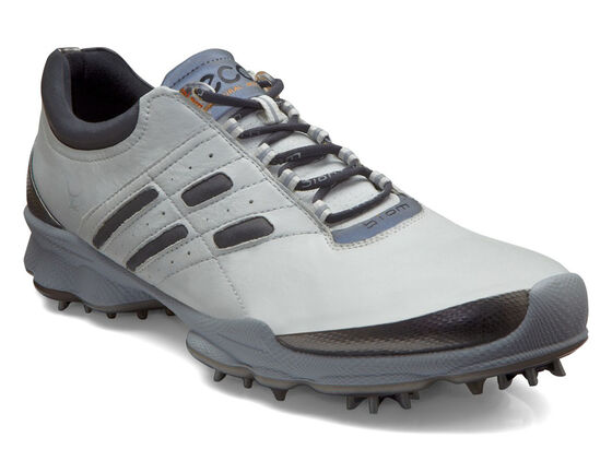 ECCO Mens BIOM Golf Lace (WHITE/STEEL)