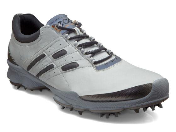 ECCO Mens BIOM Golf Lace (WHITE/STEEL)