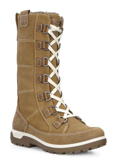 ECCO Womens Gora Tall Boot (CAMEL/CAMEL)