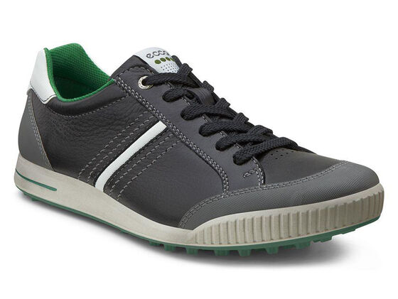 ECCO Mens Street Retro (BLACK/SHADOW WHITE/PURE GREEN)