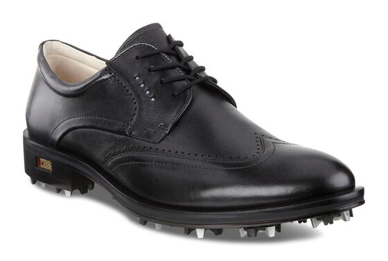 ECCO Mens New World Class (BLACK/BLACK)