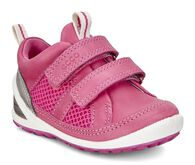 ECCO BIOM Lite Infants (SILVER METTALLIC/BEETROOT/BEETROOT)