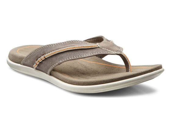 ECCO Collin Sandal Thong (DARK CLAY)
