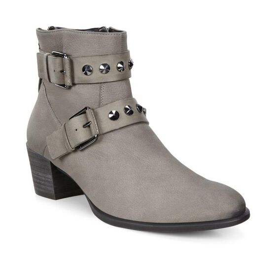 ECCO Shape 35 Buckle Boot (WARM GREY/WARM GREY)