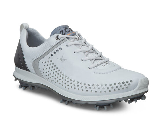 ECCO Womens BIOM G 2 (WHITE/BUFFED SILVER)