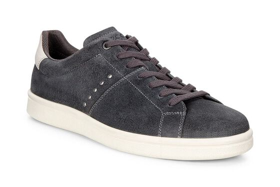 ECCO Kallum Casual Sneaker (MOONLESS/GRAVEL)