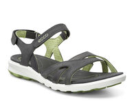 ECCO Womens Cruise Sandal Plus (DARK SHADOW/PEPPERMINT)