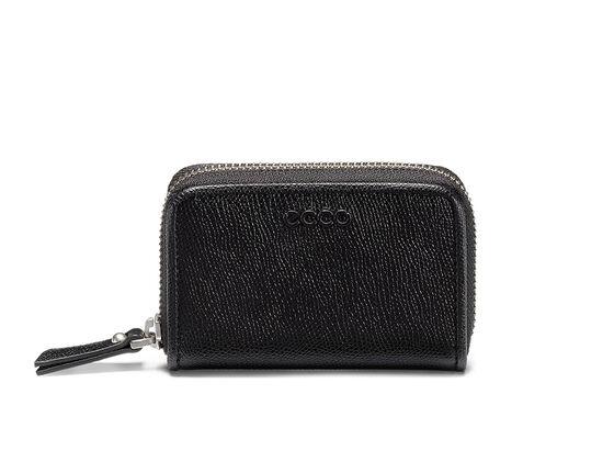 ECCO Belaga Small Zip Wallet (BLACK)