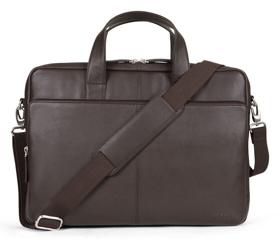 ECCO Foley Laptop Bag (COFFEE)
