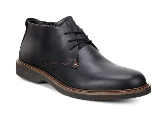 ECCO Ian Chukka Boot (BLACK)