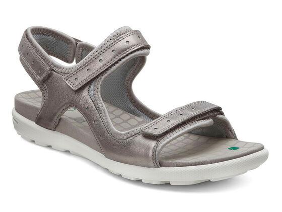 ECCO Jab Strap Sandal (MOON ROCK/CONCRETE)
