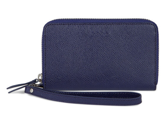 ECCO Belaga Medium Zip Wallet (MIDNIGHT)
