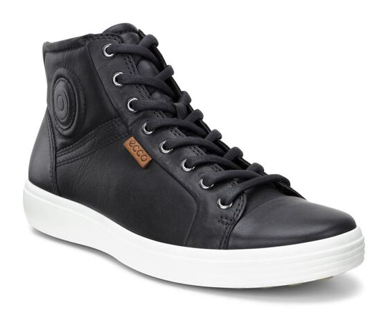 SOFT7 Mens High Top (BLACK)