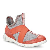 ECCO Intrinsic Kids SneakerECCO Intrinsic Kids Sneaker in CORAL BLUSH/CONCRETE-BLACK (50384)