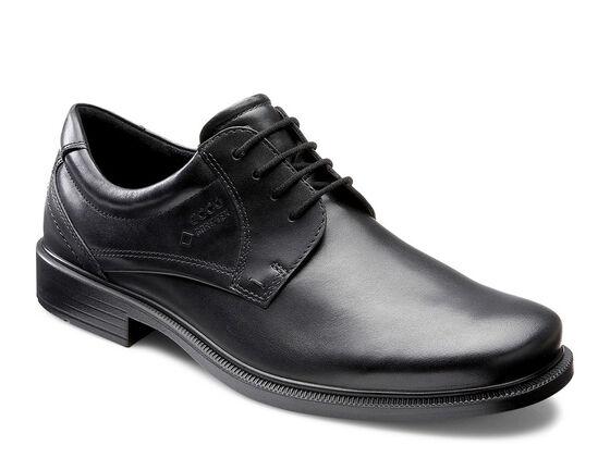 ECCO Dublin Plain Toe Tie GTX (BLACK)