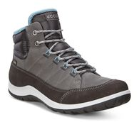 ECCO Womens Aspina GTX HighECCO Womens Aspina GTX High in MOONLESS/DARK SHADOW (57066)