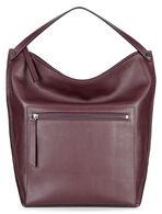 SCULPTURED Hobo BagSCULPTURED Hobo Bag in RUBY WINE (90629)