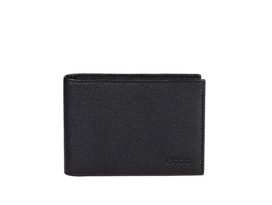 ECCO Dawson Slim 3-Fold Wallet (BLACK)