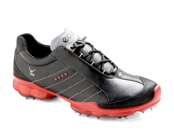 ECCO Mens BIOM Golf GTX (BLACK/BLACK/BRICK)