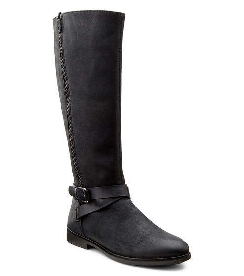 ECCO Touch 15 Tall Boot (BLACK/BLACK)