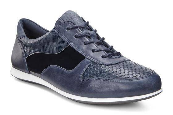 ECCO Touch Sneaker Tie (MARINE/MARINE)