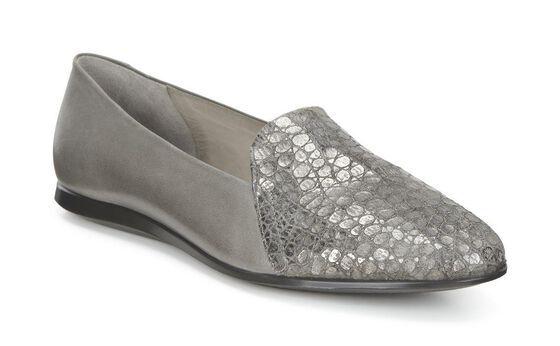 ECCO Touch Ballerina 2.0 Scale (WARM GREY/WARM GREY)