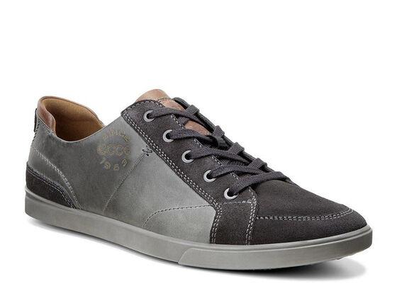 ECCO Collin Vintage Sneaker (MOONLESS/TITANIUM/COGNAC)