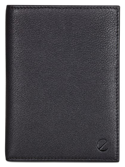 ECCO Jos Passport Holder (BLACK)