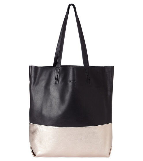 ECCO Delight Tote Shopper (BLACK/MOONROCK METALLIC)