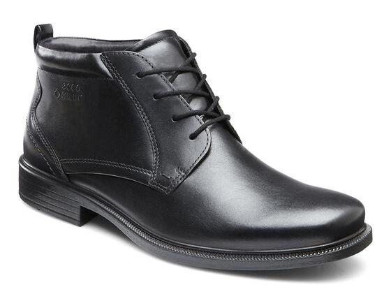 ECCO Dublin Plain Toe Boot GTX (BLACK)