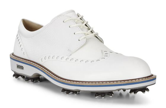 ECCO Mens Golf Lux (WHITE/WHITE)
