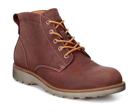 ECCO Holbrok Plain Toe Boot (COGNAC)