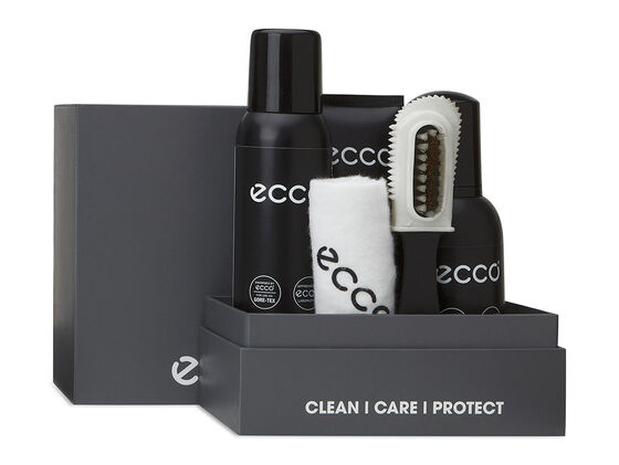 ECCO 3-Step Shoe Care Kit (TRANSPARENT)