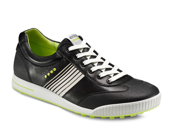 ECCO Mens Street Sport (BLACK/BLACK/LIME PUNCH)