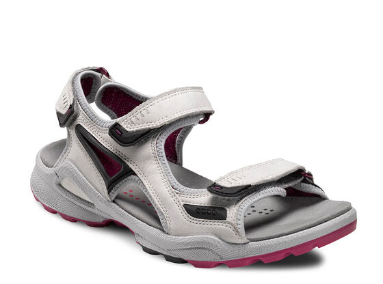 ECCO Womens BIOM Chiappo (SHADOW WHITE/FUCHSIA)