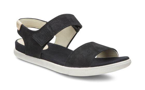 ECCO Damara Strap Sandal (BLACK)