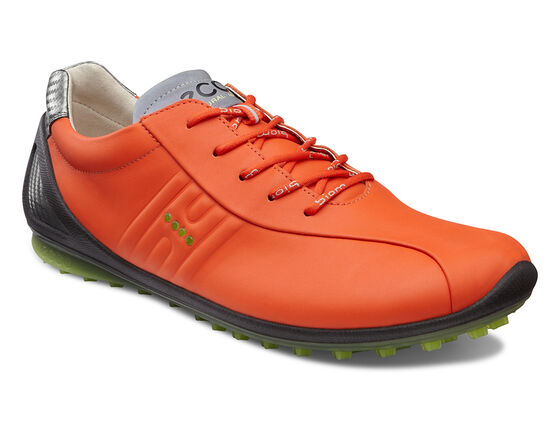 ECCO Mens BIOM Zero Golf (FIRE/LIME PUNCH)