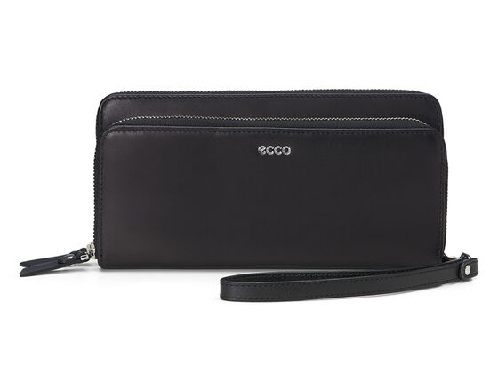 ECCO Deline Clutch Wallet (BLACK)