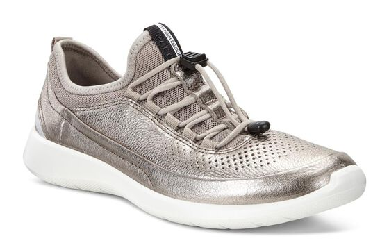 ECCO Soft 5 Toggle (WARM GREY METALLIC/MOON ROCK)