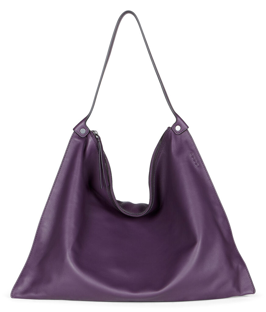 ECCO Sculptured Shoulder Bag (MAUVE/MAUVE)