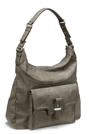 ECCO Albertville Hobo Bag (WARM GREY)