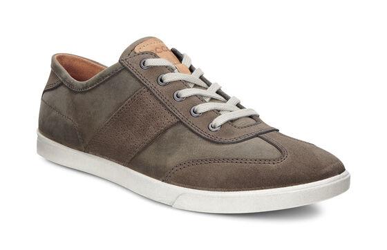 ECCO Collin Retro Sneaker (DARK CLAY/TARMAC)