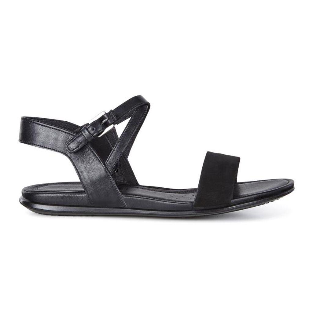 Black ecco sandals -  Ecco Touch Ankle Sandalecco Touch Ankle Sandal In Black Black 51052